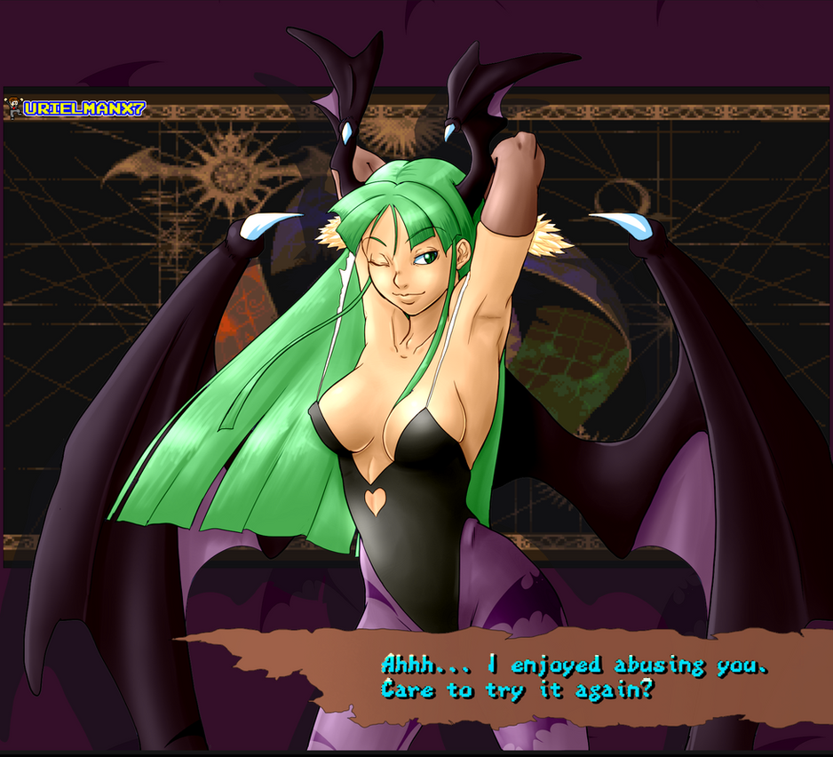 Morrigan-win-quotes-1-Abuse-ReDo by UrielManX7