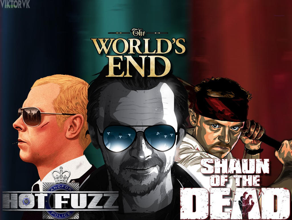 Ultimate Three Flavours Cornetto Trilogy: World'-s End / Hot Fuzz ...