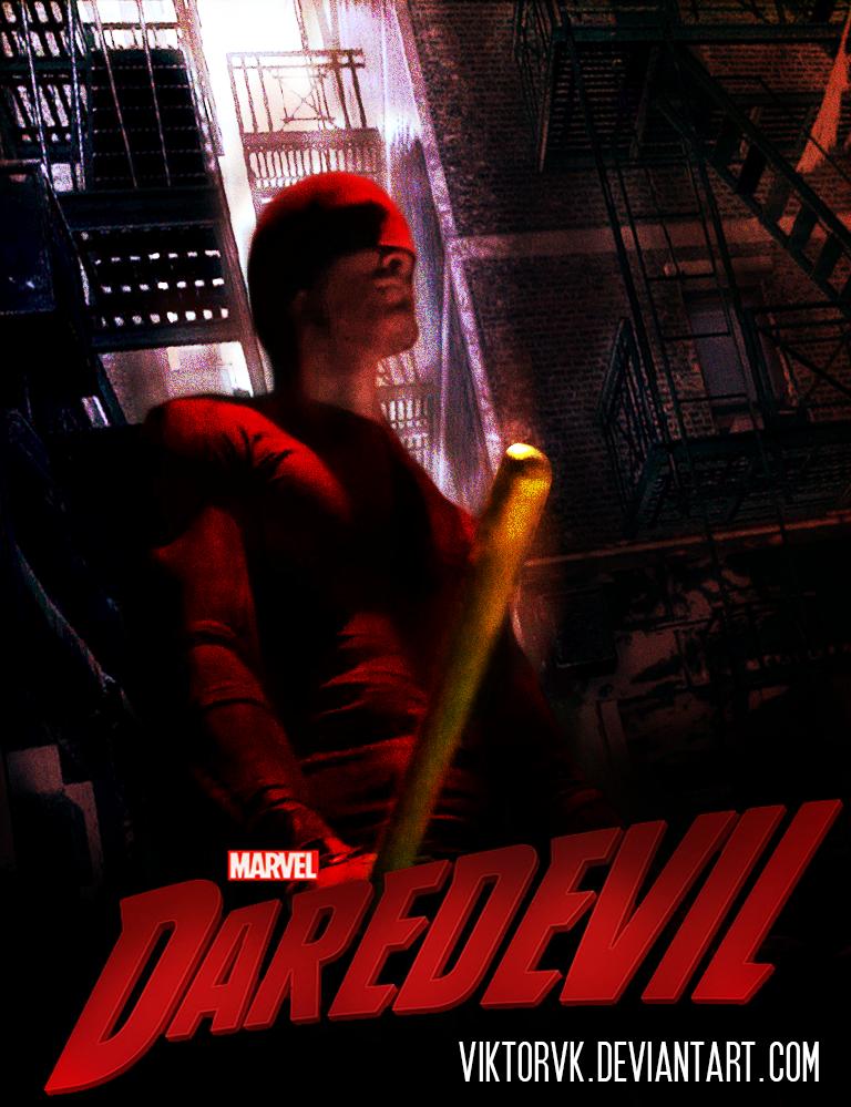Marvel's Daredevil Poster. by ViktorVK on DeviantArt