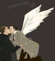 Dean Castiel by Civiliza