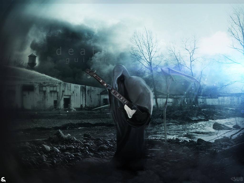 Death wallpaper by thesamirH