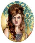 YELLOW - Miniature Portrait