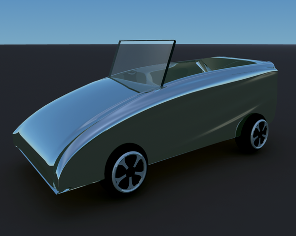 Convertible mock-up by djlibe