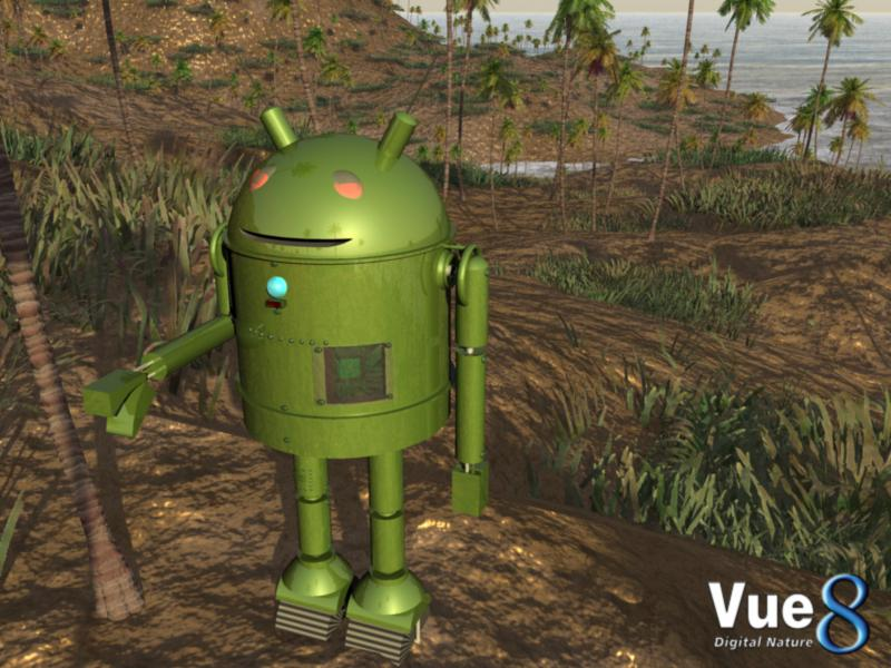Android Robot refashioned by djlibe