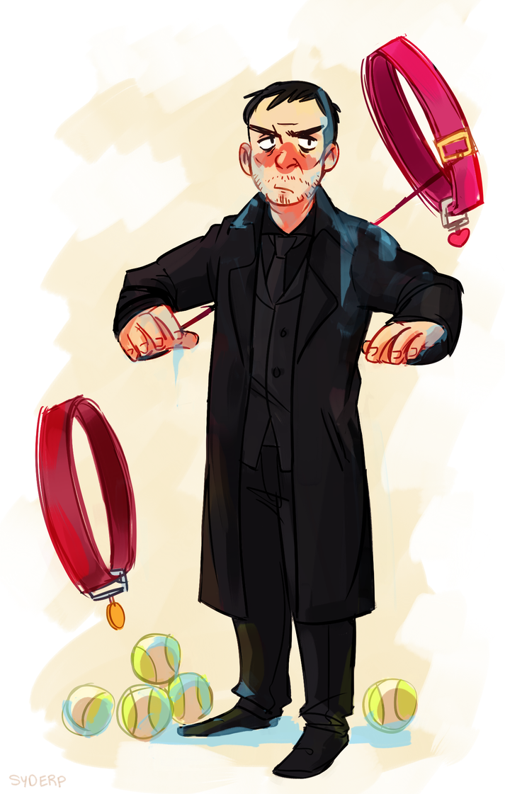 spn PAPA CROWLEY by Sydsir