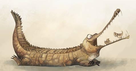 Gavialidae by Sydsir