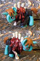 Monster Deroy Pony by MisterCrowbar