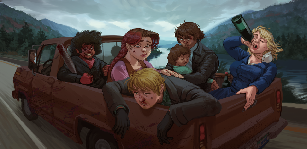 Zed North: Rocky Road Trip by CrowbarTK-Hullo