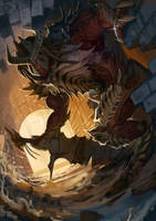 Pilgrims of Rao: Hel Knight by MisterCrowbar