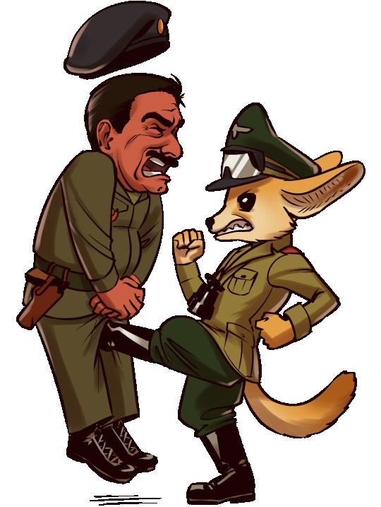 Revenge of the Desert Fox by MisterCrowbar
