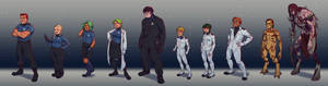 Space Crew Lineup