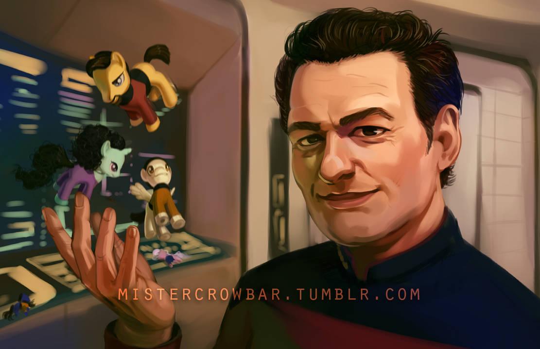My Little Bridge Crew by MisterCrowbar
