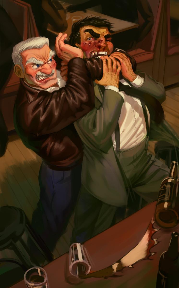 Old Salts Slugging by MisterCrowbar