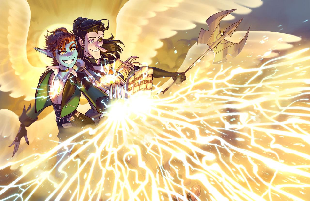 Double Aleksandyr's Lightning