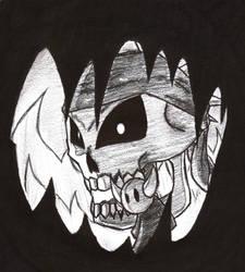 DevilDoll and Radiskull by LordEvilhead
