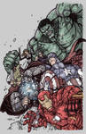 AVENGERS ASSEMBLE colors