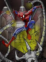 SPIDEY SENSE colors by CThompsonArt