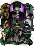 BATMAN AND FOES