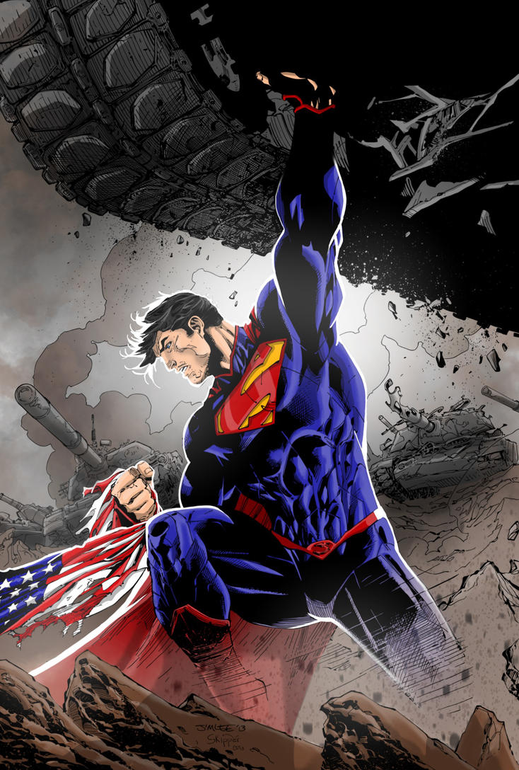SUPERMAN by CThompsonArt