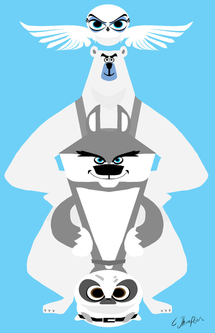 NORTH WIND from Penguins of Madagascar by CThompsonArt