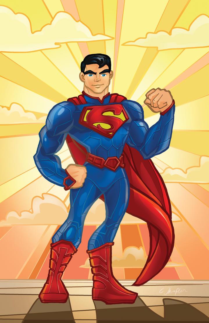 Superman - Animation by CThompsonArt
