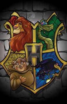 Hogwarts Disney Crest