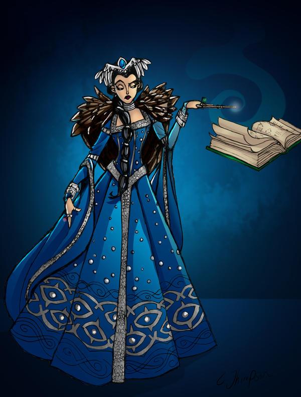 Rowena Ravenclaw by CThompsonArt