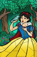 Snow White by CThompsonArt