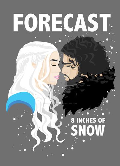 Forecast is Snow by CThompsonArt