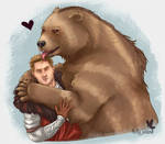 Too Grizzly To Bear by ChaoticAtaraxia