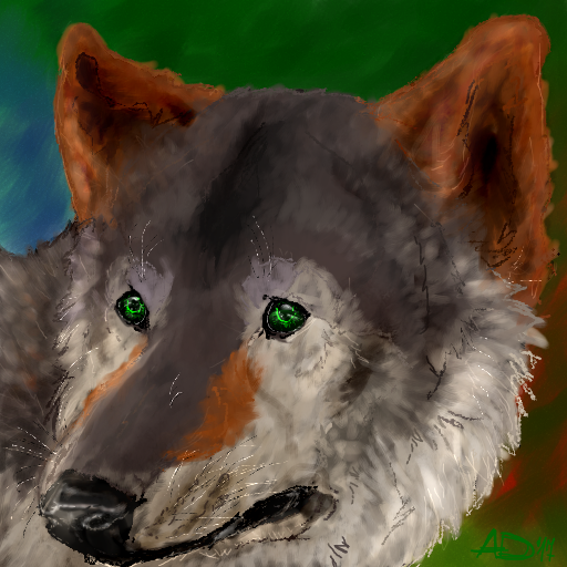 Wolfie by Tiana1234