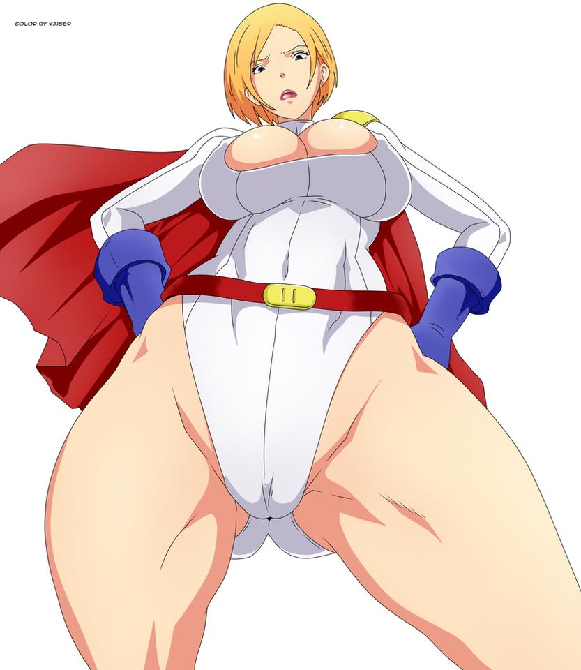 powergirl by GMGkaiser