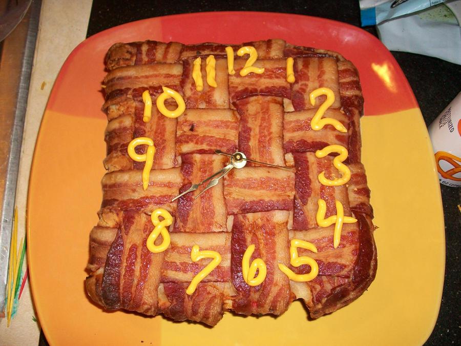 Bacon Clock by Malcoda