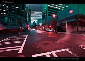 Seattle Streets by NickBaker1689