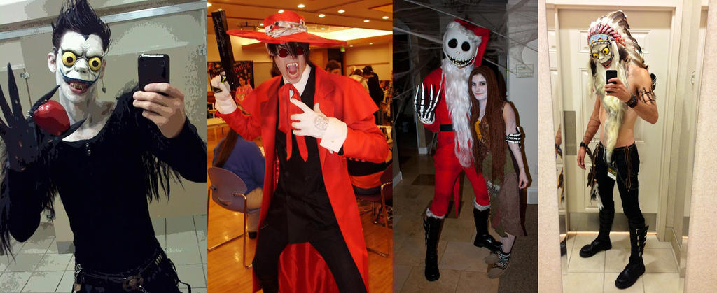 My cosplays. by NickBaker1689