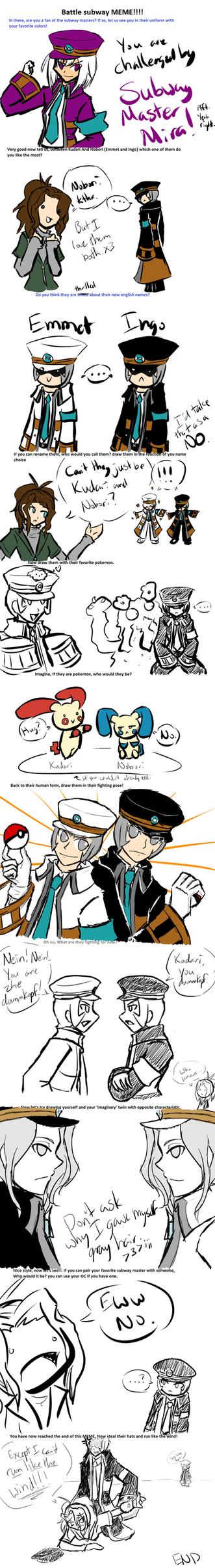 Battle Subway Meme by MiraMisaki