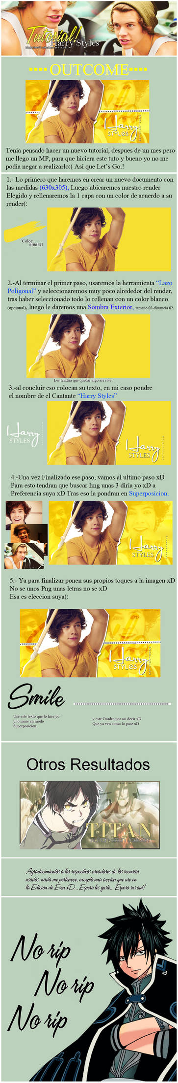 Tutorial 02 | Harry Styles..