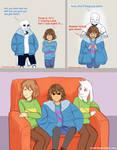 Undertale comic: Cold Frisk