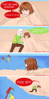 Undertale comic: Sand guardian