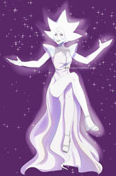 White Diamond by atomicheartlight