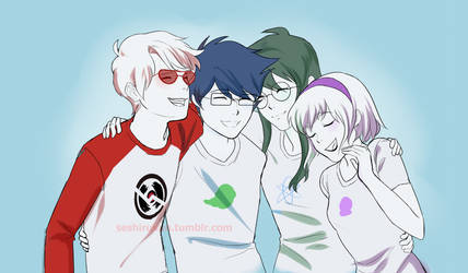 Beta Kids Hug by atomicheartlight