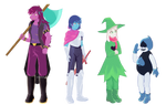 Deltarune: Fun gang height reference