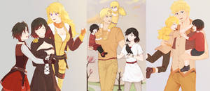 Ruby and Yang's Family (RWBY Compilation)