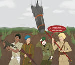 Bumbling Idiots storm Windpath (RWBY CM) by Seshirukun