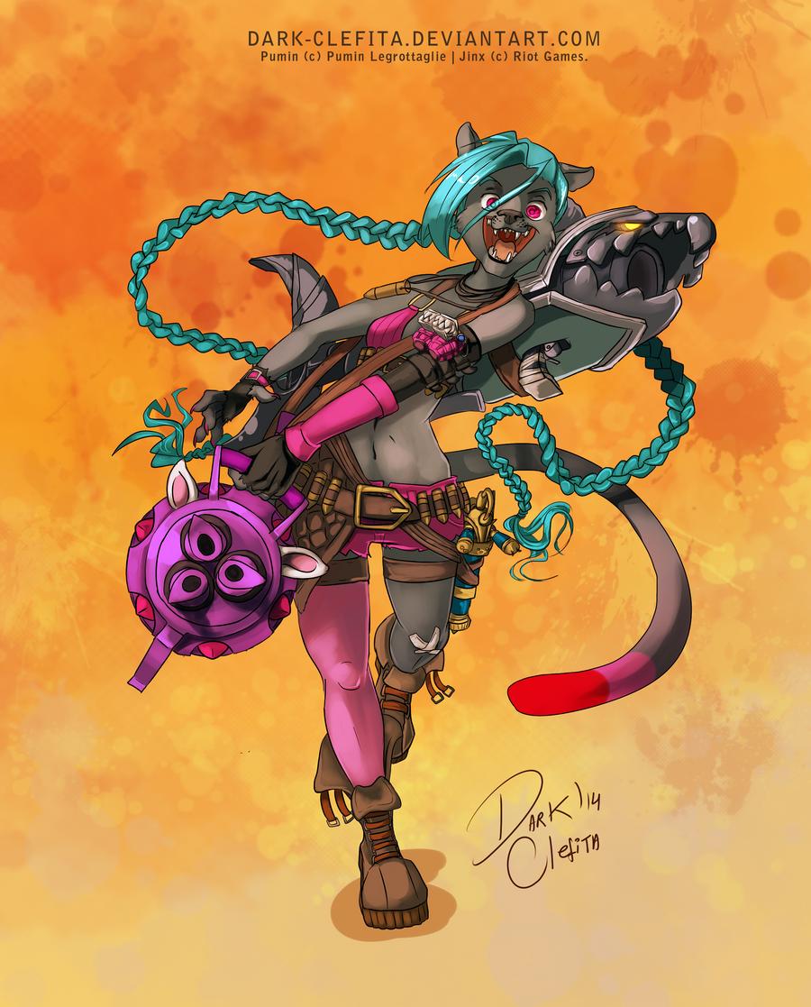 Iron artist 006 - Pumin by Dark-Clefita