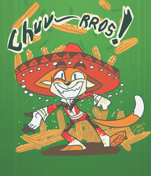 La cancion de los churros by Dark-Clefita