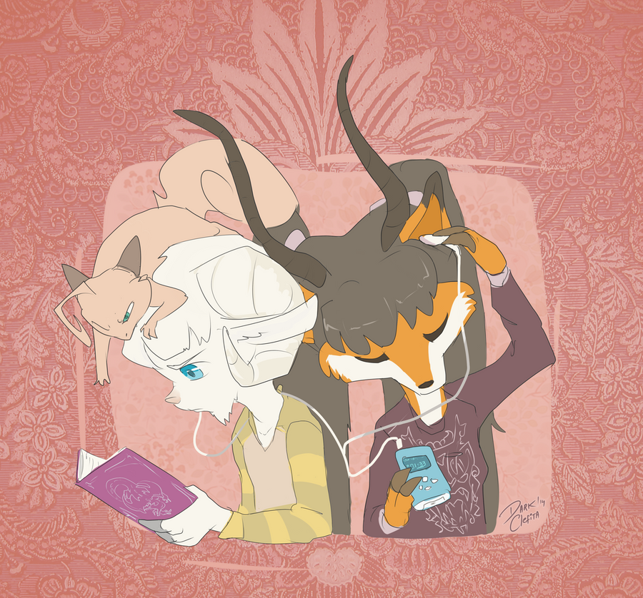 Dazz and Frann by Dark-Clefita