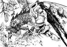 Monster Hunter by zinzaemon-K