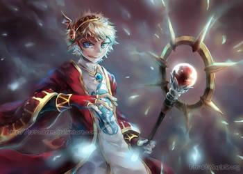 The Magician Hero by ezroseven
