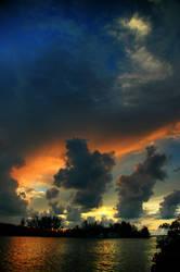 Man-O-War Sunset